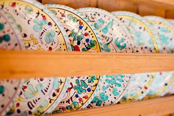 Красивые тарелочки