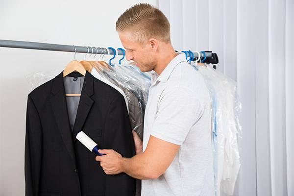 Очистить одежду