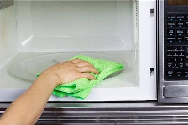 Мытье СВЧ