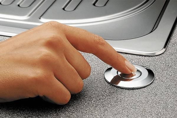Кнопка на раковине