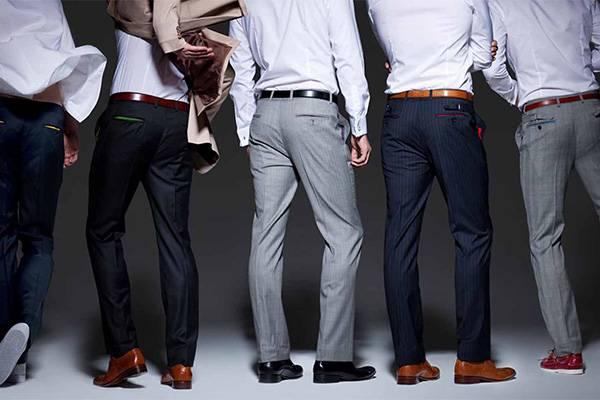 Мужчина в брюках