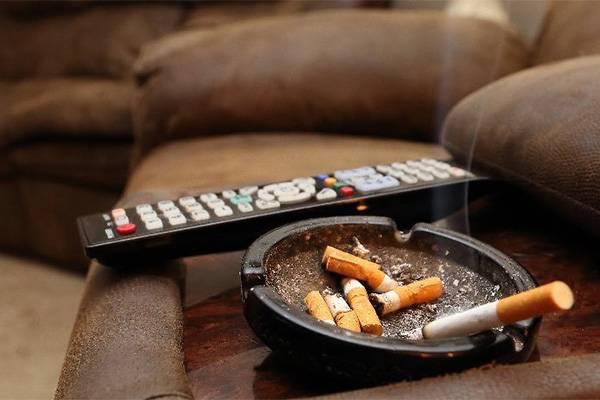 Курение в доме