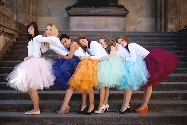 Пышные платья и юбки