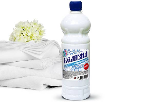 Белизна отбеливатель для белых тканей