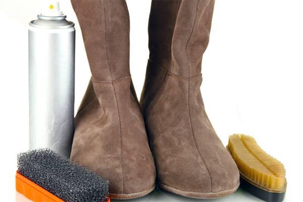 Для чистки обуви