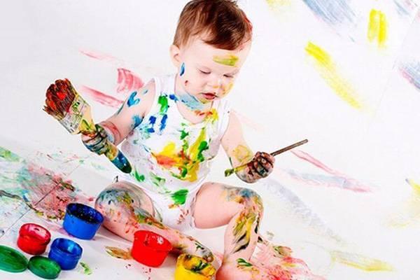 Как отстирать акварельную краску