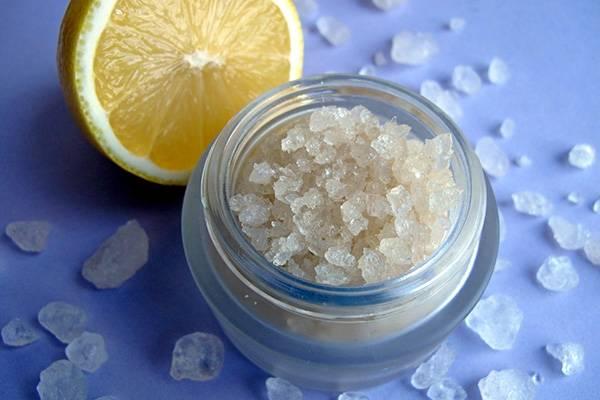лимон и морская соль