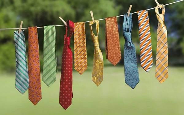 Как стирать галстук