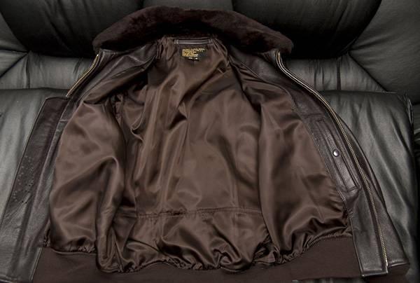 постирать подкладку кожаной куртки