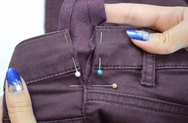 Как расшить брюки