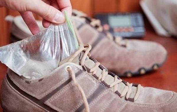 разносить замшевую обувь
