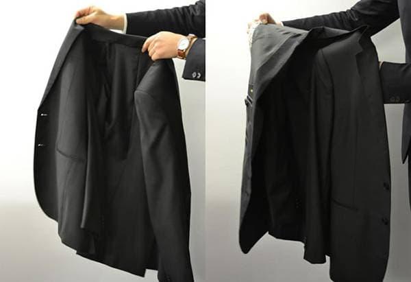 Сложить пиджак
