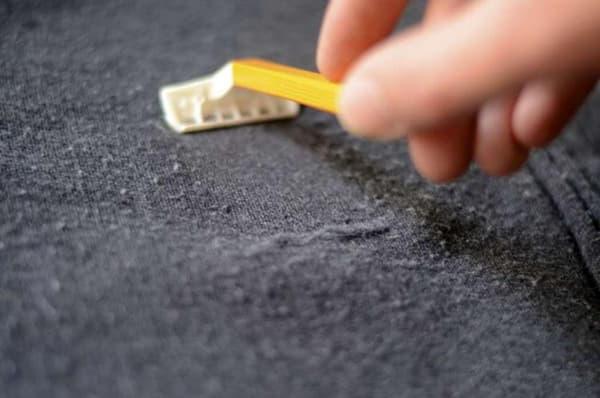 Устраняем катышки на одежде