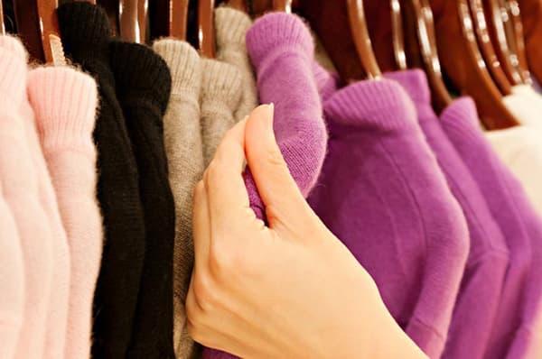 Катышки на свитере