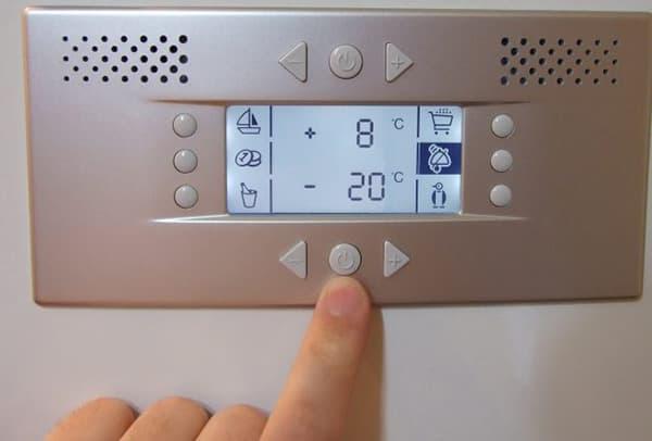 регулирование температуры в холодильнике