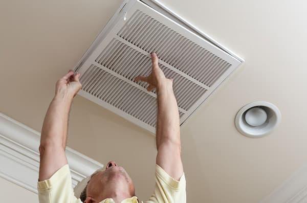 прочистить вентиляционный канал