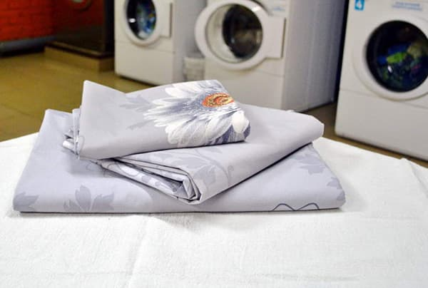 стирка постельного белья