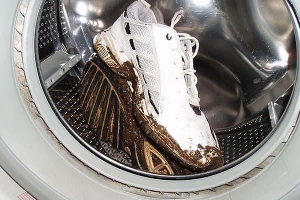 Стирка обуви в стиральной машине