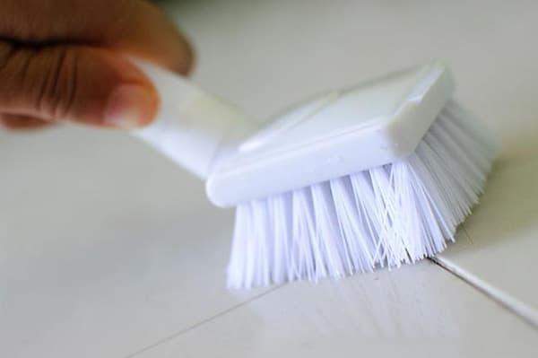 отмыть плитку
