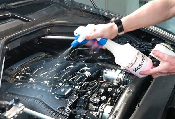 промыть двигатель