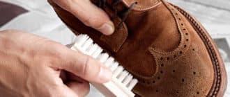 перекрасить замшевую обувь